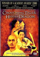 Crouching Tiger, Hidden Dragon (Dvd, 2001, Special Edition) World Ship Avail
