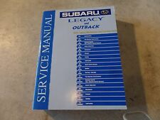 2004 Subaru Legacy and Outback Factory Service Manual Mechanical and Function