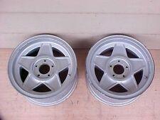 "Ferrari 365 Wheel Rim Cromodora GTB/4 Daytona 15"" 7-1/2 Pair OEM"
