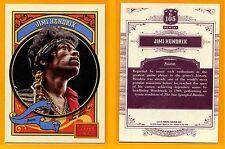 Jimi Hendrix 2014 Trading Card; Panini Golden Age #105; Rock Guitar Legend