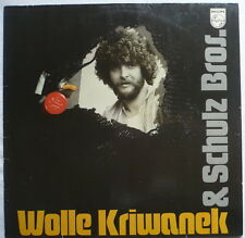 WOLLE KRIWANEK + SCHULZ BROS. - Same (Stroßaboh; Enne denne dubbe denne; ..)- LP