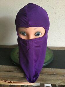 Full Face Mask Ski Lightweight Winter Purple Balaclava