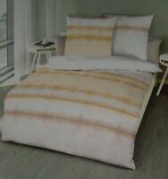 Kaeppel Renforce Bettwäsche Set 135x200 cm Sand gestreift 100% Baumwolle