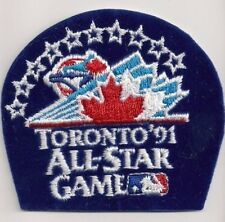 1991 MLB Baseball ALL STAR GAME Patch Toronto Blue Jays CAL RIPKEN Jr MVP