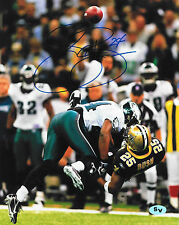 Sheldon Brown Autographed Signed 8x10 Photo Eagles Browns (JSA PSA Pass)