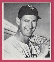 1947 Bowman Baseball Card # 21 Ted Williams - Boston Red Sox