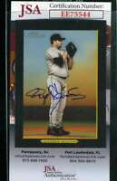 Roger Clemens 2005 Topps Turkey Red Jsa Coa Hand Signed Authentic Autograph