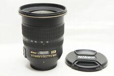 Nikon AF-S DX ZOOM NIKKOR 12-24mm F4G IF ED Lens for F Mount #210718k