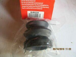QJB224 New QH Inner/Outer CV Boot Kit Fits: Honda Civic Mitsubishi Subaru