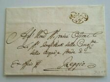 Postal History, Italy, Stampless Wrapper, 1847, Excellent