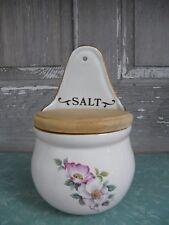 SALT Box Briar Rose Pattern The House of Webster Ceramics