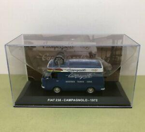 FIAT 238 CAMPAGNOLO 1972 TOUR DE FRANCE VAN 1:43 DIE CAST IXO - NOS MIB
