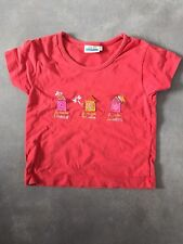 T-shirt manches courtes rouge taille 4 ans SERGENT MAJOR