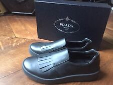 Chaussures Prada Sport Leather Slip On