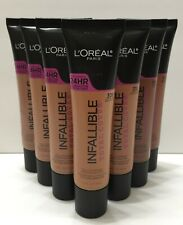 Loreal Paris 24 hr Infallible Total Cover Foundation 1.0 oz / 30 ml (Choose)