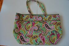 Vera Bradley New Baby Bag Carry On Messenger Multi-Color Botanica $92.00 Tags