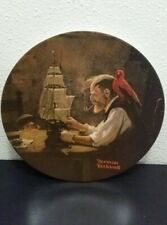 Norman Rockwell plate, fourth in the Rockwell heritage collection