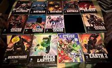 Lot 13 DC Comics Eaglemoss Batman Justice League Green Lantern Deathstroke Earth
