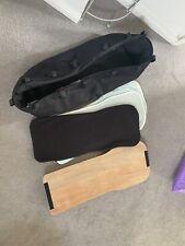 Bugaboo Donkey Black Bassinet Carry Cot Fabric Mattress And Wood Board