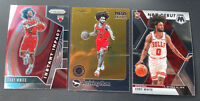 Coby White Rookie Lot (3) Cards - Prizm NBA Hoops Mosaic Chicago Bulls Hot RC