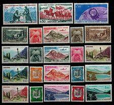 lot de timbres anciens Andorre neufs **