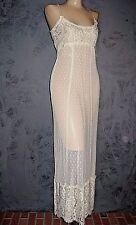 Claire Pettibone Gown Bridal Lingerie Trousseau Amanda Ivory Lace L NWT $195