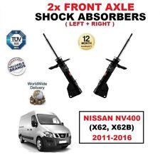 2x Asse Ant Sx DESTRO AMMORTIZZATORI PER NISSAN NV400 2011-2016 (X62, x62b)