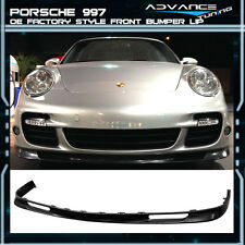 06-12 Porsche 997 OE Factory Style Front Bumper Lip Unpainted - Urethane