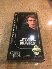 Star Wars Sideshow ORDER OF JEDI  Anakin Skywalker Darth Vader EMPTY BOX ONLY