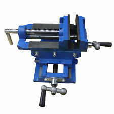 "3""Cross Slide Vise Drill Press Metal Milling 2 Way Heavy Duty Clamp Machine"