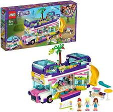 LEGO 41395 Friends Friendship Bus Toy with Swimming Pool, Slide, Summer Holiday