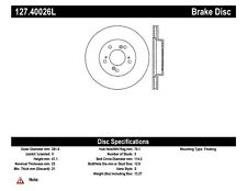 StopTech Front Left Disc Brake Rotor for 91-01 Acura Legend & TL / Honda Odyssey