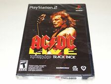 AC/DC Live RockBand Track Pack for Playstation 2 PS2 Brand New & Factory Sealed