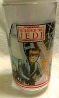 Return of the Jedi 1983 Burger King Glass Coca-cola Darth Vader Luke