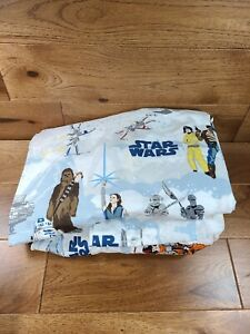 Pottery Barn Kids STAR WARS 3 Piece TWIN Bed Sheet Set Flat, Fitted, Pillowcase