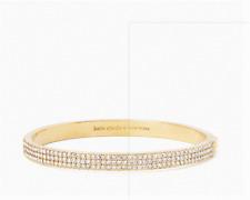 KATE SPADE NEW YORK heavy metals pave row bangle Bracelet  GOLD