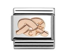 Nomination Charm Rose Gold Knot Of Care