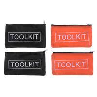 2x Oxford Tuch Werkzeugset Tasche Reißverschluss Aufbewahrung Instrumentent sp