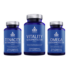 Thrivous Geroprotector Stack: Anti-Aging Heart Joint Cell Metabolism Supplement