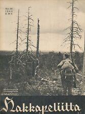 Finland Wartime Magazine Hakkapeliitta 1943 #36 - Eastern Karelia