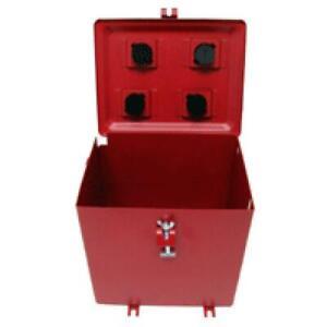 Battery Box w/ Cover & Hardware for Fits IH FARMALL C/Super A/Super C/100/130/14