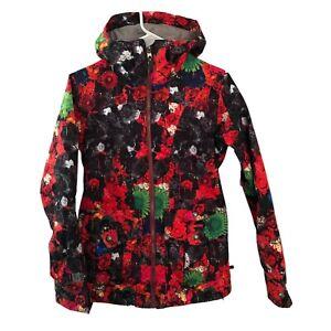 Burton Dry Ride Snowboard Ski Jacket Floral Women's XS