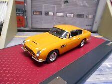 ASTON MARTIN DB6 DB6 Vantage Coupe gelb yellow 1965 Resin Highend MATRIX 1:43