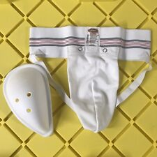 Bike Athletic Supporter Jockstrap with Hard Cup LARGE