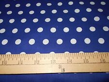 1 yard Little Dot Royal Fabric