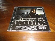 Hollow Tip Presents Puttin In Work Rap CD - CRICET Sidewayz Ent SYKO Too Short