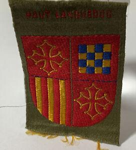 Vintage Boy Scout Badge Patch Europe Haut Languedoc C1950 Rare