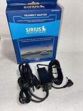 Sirius Satellite Radio Wired Fm Direct Adapter Model Fmda25 Open Box