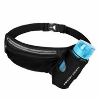 Waist Bag Sport Fitness Lightweight Hydration Belt Water Bottle Hip Waist Pack