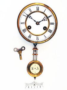 Schönes Regulator Uhrwerk mit Pendel, Junghans; Bastler